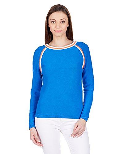 United Colors of Benetton Women s Cotton Sweater - IndyaGadgets.com d316ada3e