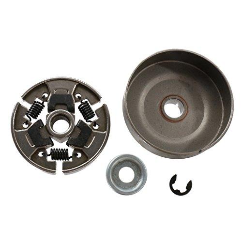 Sharplace Kupplungstrommel Kettenrad mit Kettenritzel Set Für STIHL Kettensäge MS170 / 180/210/230/250,