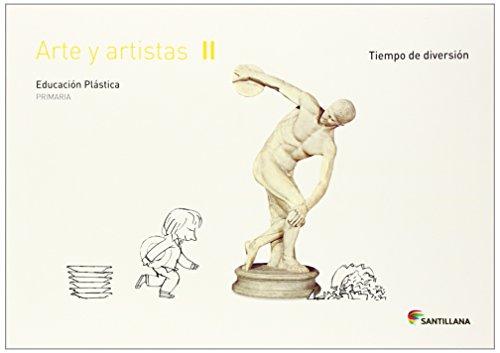 CUADERNO ARTE Y ARTISTICA II TIEMPO DE DIVERSION 2 PRIMARIA - 9788468017655 por Aa.Vv.