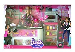Barbie Tv Chef Doll & Playset
