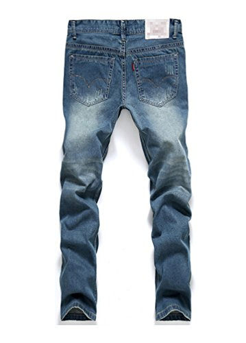 Bold Manner Herren Jeanshose Style 5-Blue