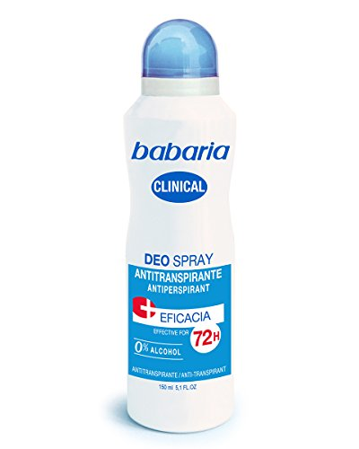 Babaria Desodorante Spray Clinical - 150 ml