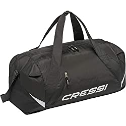 Cressi Palawan Bag Sac de Sport Polyvalent Spacieux Mixte Adulte, Noir, 55x20x30