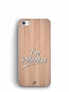 YuBingo I'm Possible Designer Mobile Case Back Cover for Apple iPhone SE