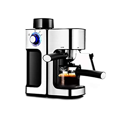 Fully automatic coffee machine Espresso machine semi-automatic home coffee machine small steam coffee machine multi-function commercial coffee machine from YNSHOP
