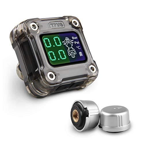 CAR ROVER TPMS Moto Presión de Neumáticos Manómetro de Motocicleta, Sistemas de...