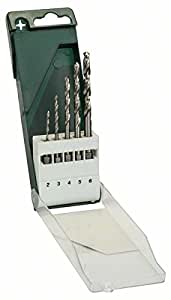 Bosch 2609255127 Jeu de 5 forets à métaux HSS-G à queue 6 pans