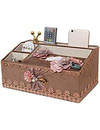 9fa78a056 Toallero multifunción, caja de pañuelos para salón, mesa baja, mando a  distancia,
