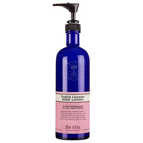 Neal's Yard New English Lavender Body Lotion, 200ml Nourishes and relaxes body and mind. by Neal's Yard - Lavender Body Care Lotion