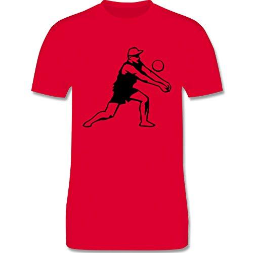 Volleyball - Volleyball - Herren Premium T-Shirt Rot