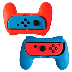 Hestia Goods Nintendo Switch Giffe Joy-Con Gaming Controller – Egonomisches Gamingpad Grips für Nintendo Switch Joy-Con [2 Stück]