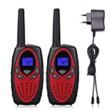 Walkie Talkies Niños 8 Canales Sanxuan Walky Talky Recargable con LCD...