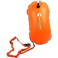 Perfeclan Bolsa de Aire Inflable del Flotador de la Remolque de la boya de la Nadada de la Seguridad de los Deportes para Nadar Abierto del Agua