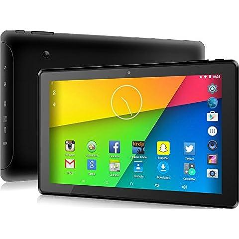 10.1 inch Tablet PC - Android 5.1 - HDMI, GPS, WiFi, Bluetooth - 16GB di archiviazione interna - doppia fotocamera - scheda SD - Google Chromecast