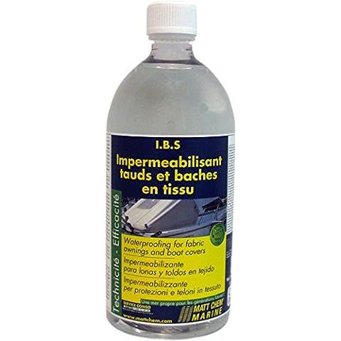 Impermeabilisant tauds et baches en tissu 1L - MATT CHEM