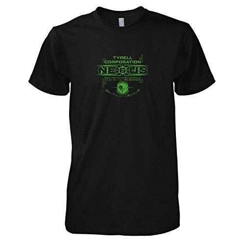 TEXLAB - Nexus 6 Replicants - Herren T-Shirt, Größe XXL, (Deckard Kostüm Rick Runner Blade)