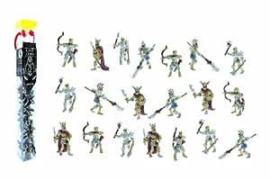 Plastoy - 70375 - Tubo L'Armée des Squelettes - 20 Figurines