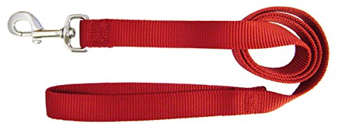 Artikelbild: Dog Leash Single Thick Nylon Lead with Swivel Snap Hand Loop Durable 1' 6Ft Red