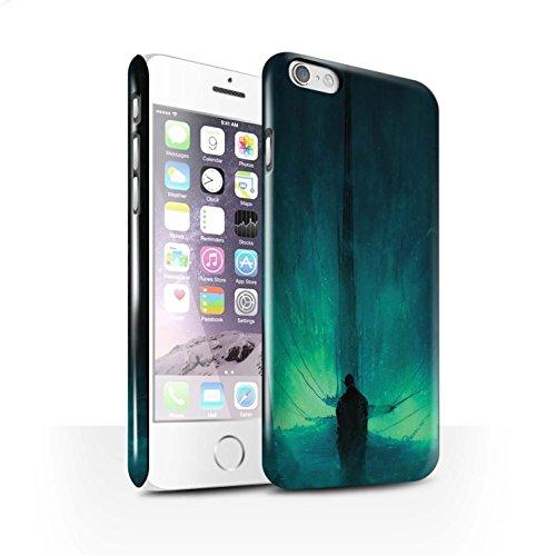 Offiziell Chris Cold Hülle / Glanz Snap-On Case für Apple iPhone 6 / Pack 10pcs Muster / Dunkle Kunst Dämon Kollektion Bösen Herzens