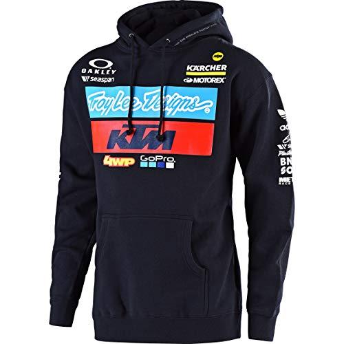 Troy Lee Designs Hoody KTM Team Blau Gr. XL