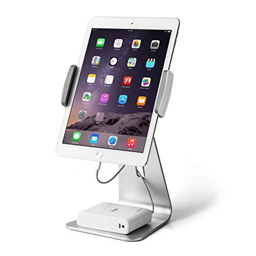 YWT Tablet-Ständer, 360-Grad-drehbarer iPad-Ständer aus Aluminium für das 7-13-Zoll-iPad Pro Air Mini-Galaxy-Tab Nexus, für die Büroarbeitsplatte im Ladengeschäft (Feuer Case Tablet 7-zoll-kindle)