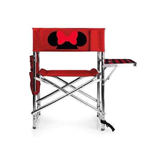 Disney Classics Minnie Mouse Sportstuhl, zusammenklappbar, Rot