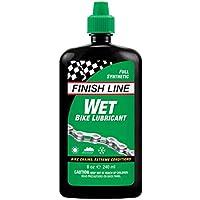 Finish Line Wet Lubrificante per Moto, in Bottiglia da spremere da 236,6 ml
