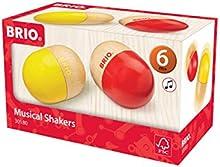 Brio - Instrumento musical: maracas con forma de huevo (30180)