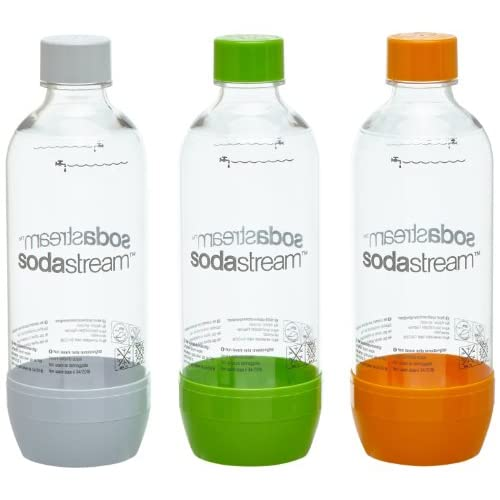 41fXfh1uMwL. SS500  - sodastream 1041340490 Bottles/PET Plastic/Grey/Pack of 3
