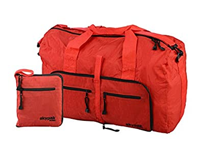 Skypak 90L Folding Travel Bag (Red)