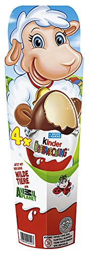 4er, 2er Pack (2 x 80 g) (Schokolade-ei-spiele)