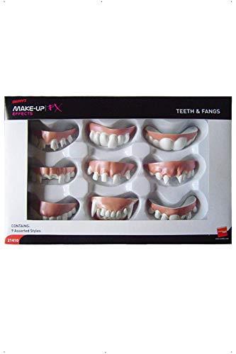 Leichte Kinder Alien Kostüm - Smiffys 21410 Zähne und Vampirzähne in