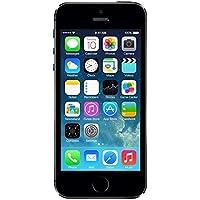 "Apple iPhone 5S - Smartphone libre iOS (pantalla 4"", cámara 8 Mp, 16 GB, Dual-Core 1.3 GHz, 1 GB RAM), negro"