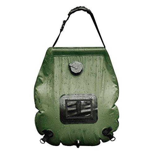 iBaste 20L Outdoor Portable Wasserbehälter mit Hahn Wasserkanister Camping Faltbar Faltbarer Wasserkanisterr, Wasserbehälter Trinkwasser Behälter für Sport Camping Wandern Picknick BBQ