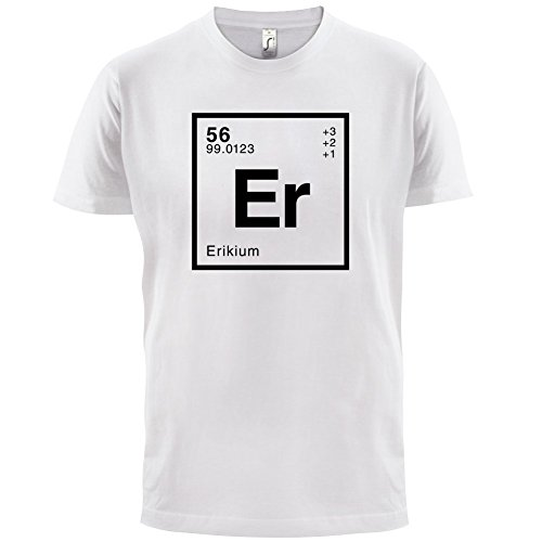 Erik Periodensystem - Herren T-Shirt - 13 Farben Weiß