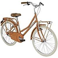 Bicicleta Holandesa de niña de Alpina con marco de acero, Salmón, ...