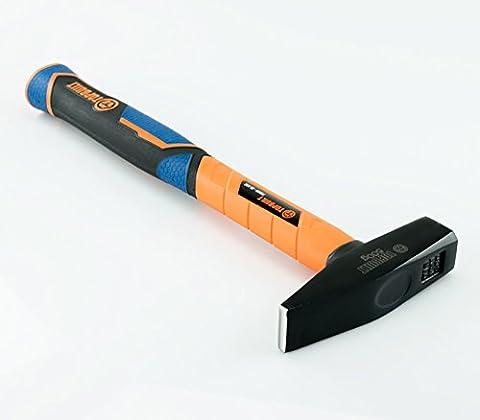 Mechanical hammer (500 g) with fiberglass handle, head 27 mm