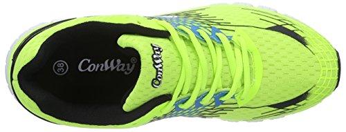 ConWay 207352 Damen Sneakers Grün (grün/komb.)