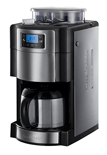 Russell Hobbs 21430-56 Digitale Thermo-Kaffeemaschine Buckingham Grind&Brew, 1.25l, integriertes...
