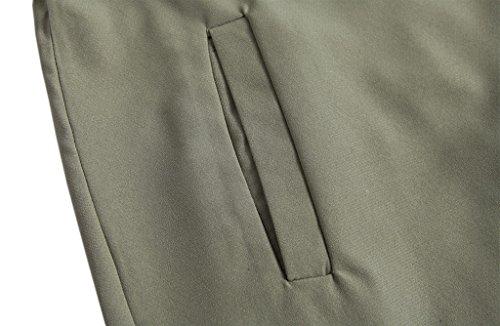 Liu & Qu Damen Trenchcoat Mantel armee-grün
