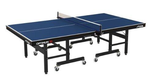 STIGA Tischtennisplatte Optimum 30 Indoor 30mm,blau mit Netzgarnitur