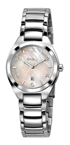 Orologio breil donna precious quadrante madreperla rosa movimento solo tempo - 3h quarzo e bracciale acciaio tw1376