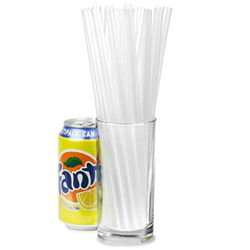 drinkstuff-super-jumbo-straws-clear-9-inch-pack-of-200