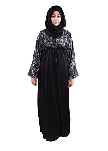 Abaya/Burqa in Black for muslim women Is Modest Wear with custom fit...