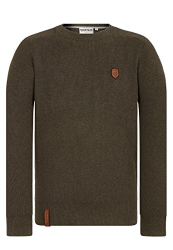 Naketano Male Knit Mortal Men Olive Melange