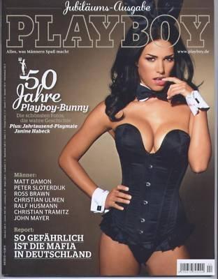 PLAYBOY 2010-04 Jubiläums-Ausgabe mit JANINE HABECK