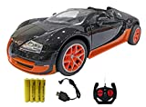 Popsugar Bugatti 1:16 Door Opening Car with Rechargeable Battery and Charger RC Car