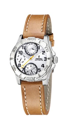 Festina Sport 16244/D Unisex Quartz Watch With Leather Band