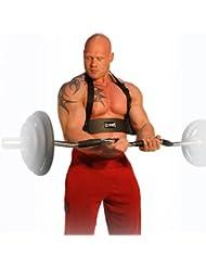 C.P. Sports 38819 Poignées d'entraînement, spécial biceps, Noir, Taille unique