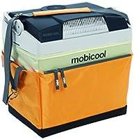 MOBICOOL G26S DC - Ghiacciaia termoelettrica in tessuto, 25 L, 12 V, colore: giallo/grigio